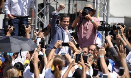 Guaidó convocó una movilización para este 23Feb para entrada de la ayuda humanitaria