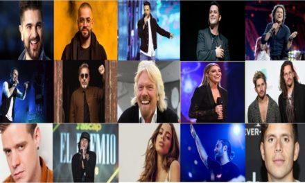 Artistas confirmados para el concierto por la ayuda humanitaria
