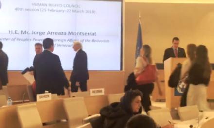 Diplomáticos abandonaron sesión de la ONU durante intervención de Arreaza
