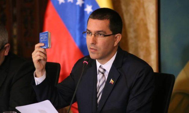 Arreaza: La única intención de EE.UU. es apropiarse del petróleo de Venezuela