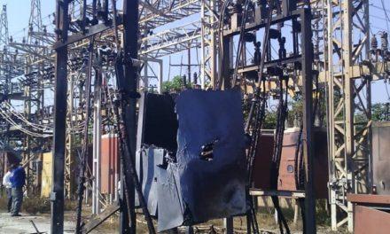 Incendio en subestaciones eléctricas dejarán a parte de Miranda y Anzoátegui sin luz