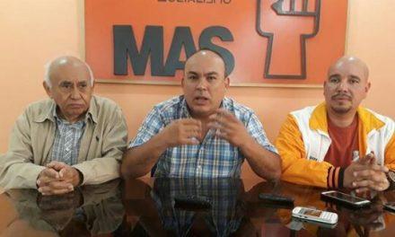 MAS: Una intervención militar solo empeorará el estado de destrucción en Venezuela