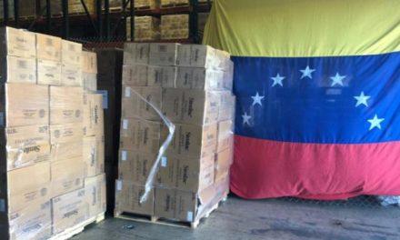 Primer avión de ayuda humanitaria de Puerto Rico llegó a Venezuela
