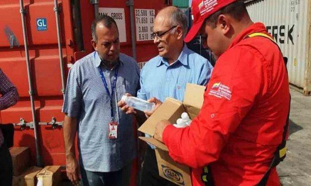 933 toneladas de medicinas llegaron a Venezuela desde Cuba y China