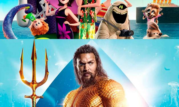 Hotel Transylvania 4 y Aquaman 2 llegarán a la gran pantalla