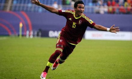 Venezolano Samuel Sosa integra el 11 ideal del Suramericano sub 20