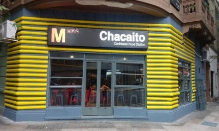 Bar alusivo a la estación de Chacaíto se encuentra en Argentina