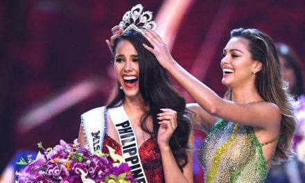 Miss Universo rompió la corona