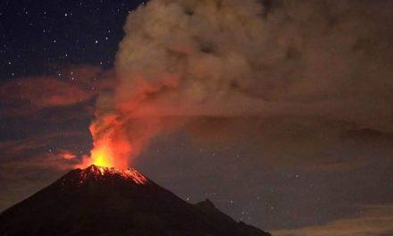 Explosión en volcán Popocatépetl mantiene alerta en México
