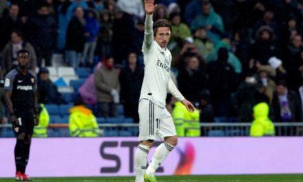 Modric fue premiado como mejor deportista de 2018 por la prensa deportiva