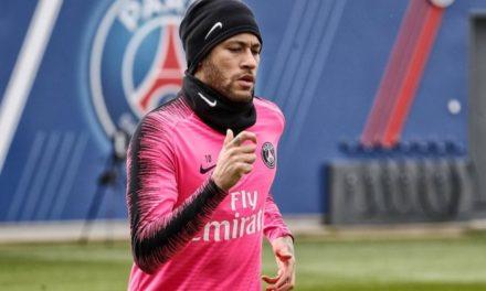 Neymar listo para volver
