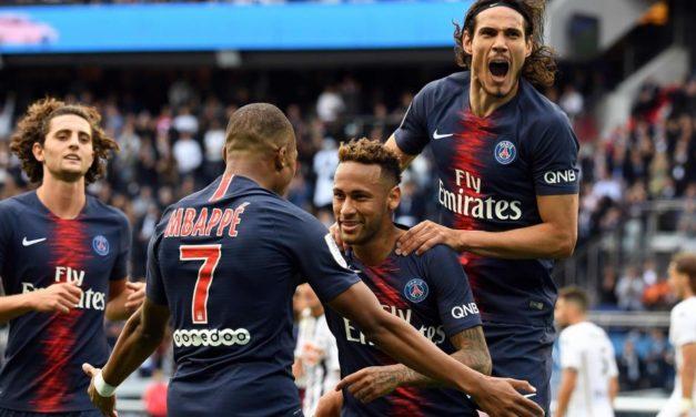 Vuelve el trío Cavani, Neymar, Mbappé en la final de la Copa de Francia
