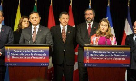 Grupo de Lima se reúne hoy en Chile para tratar tema venezolano