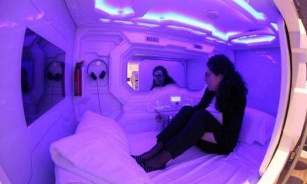 Inauguran primer hotel con cápsulas para dormir en la capital eslovena