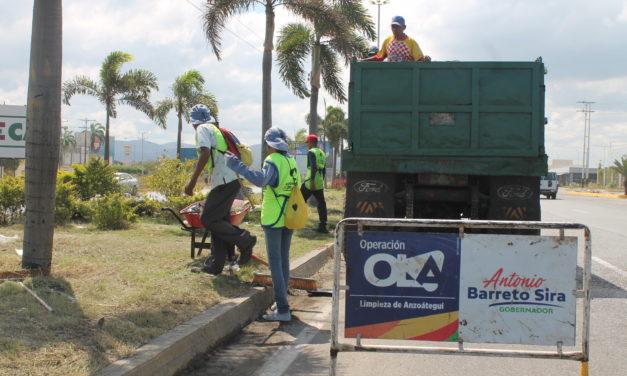 Un millón de metros cúbicos de desechos fueron recolectados en Anzoátegui