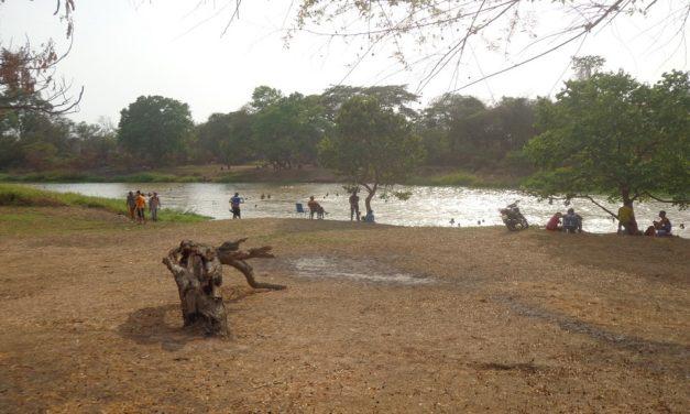 Playones del río Unare en Clarines aptos para el disfrute de los temporadistas
