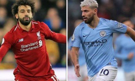 Salah y Agüero, una lucha reñida por el Pichichi de la Premier