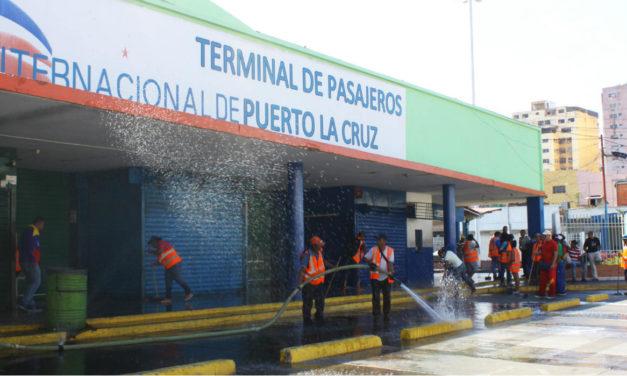 5.000 personas se movilizarán en Terminal Internacional de Puerto La Cruz