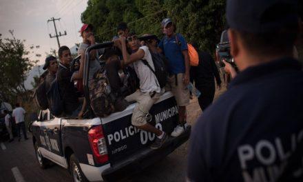 Deportación de migrantes desde México se triplicó