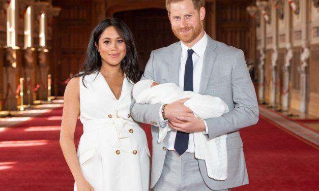 Meghan Markle y el príncipe Harry presentaron a su hijo
