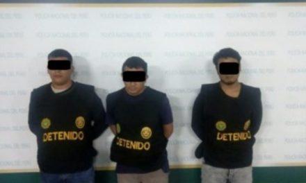 Detuvieron en Perú a tres hombres que intentaron secuestrar a una Venezolana