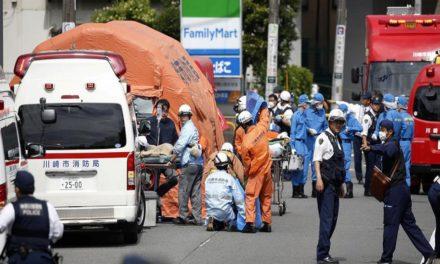 Tres muertos y 18 heridos dejó un ataque con cuchillos a colegialas en Japón