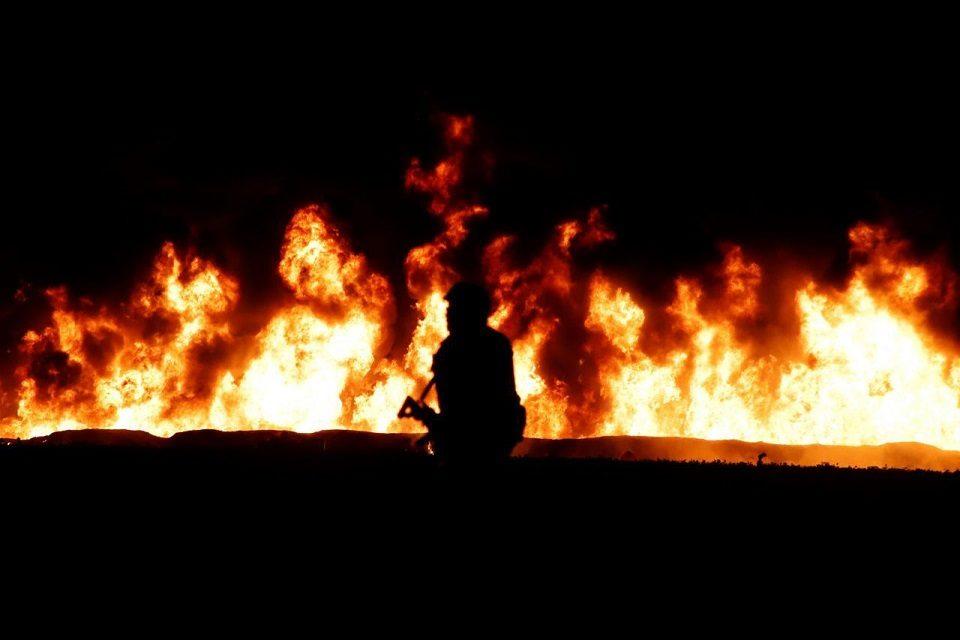 México   Estalla ducto de combustible de la estatal Pemex en Chiapas