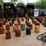 Incautan 1.242 galones de combustible en Colombia