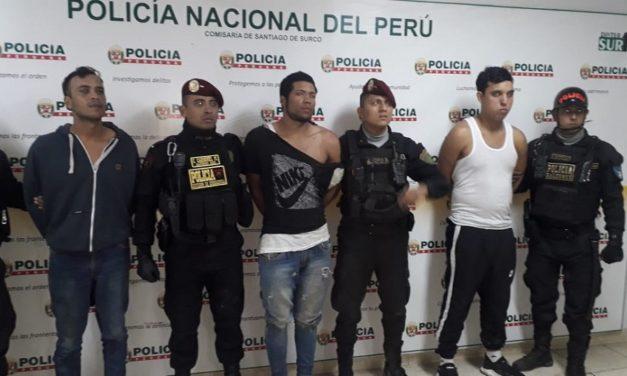 Desmantelan a banda en Perú integrada por cuatro venezolanos