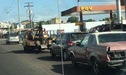 En Guayana revenden la gasolina a 1.000 bolívares en efectivo por litro
