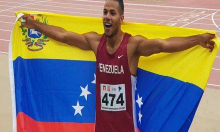 El venezolano Lucirio Garrido se lleva oro sudamericano en 800 y 1.500 metros