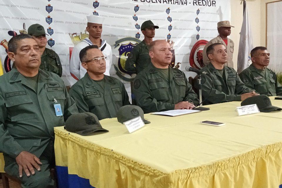 Esperan enlista 1.285 cadetes en Anzoátegui para la FANB