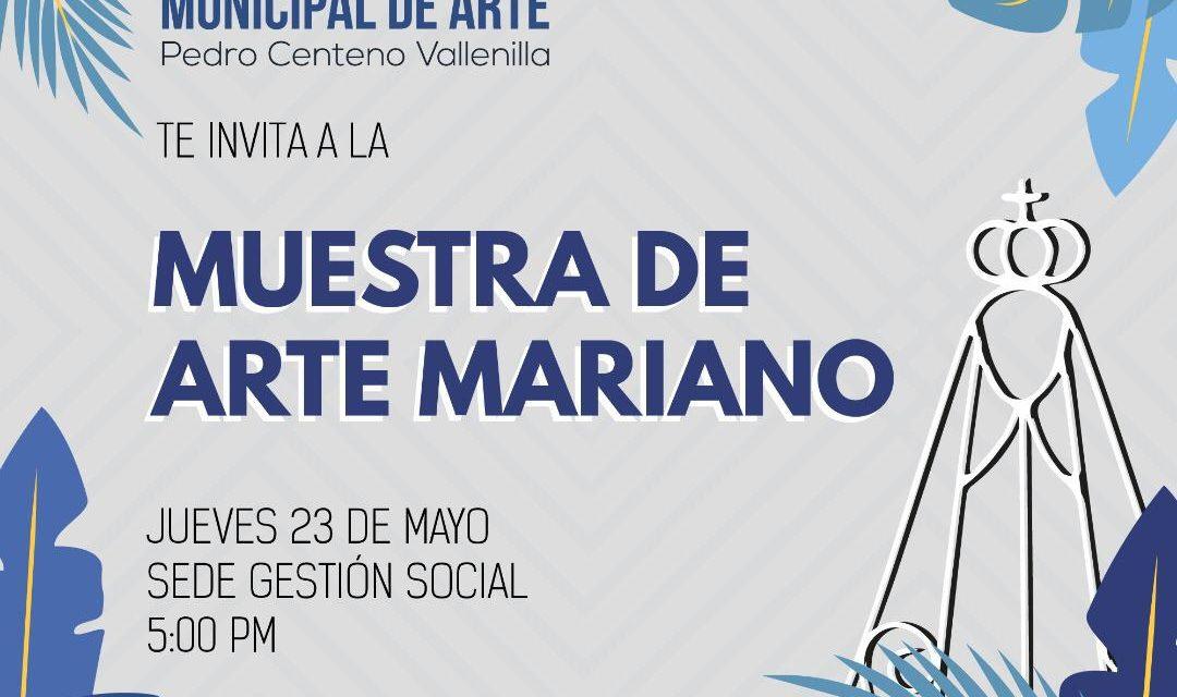 """Galería Municipal de Arte expondrá la """"Muestra de Arte Mariano"""""""