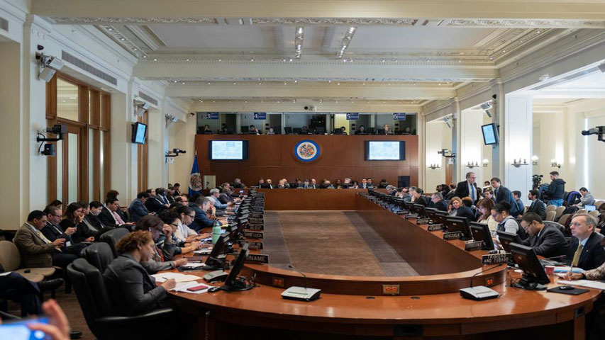 Cancilleres se reunirán hoy en la OEA para tratar situación venezolana