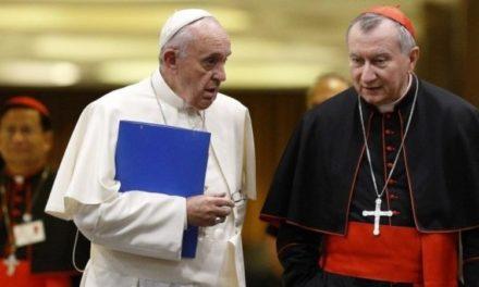 Cardenal Parolin recibió a delegados de Guaidó en el Vaticano