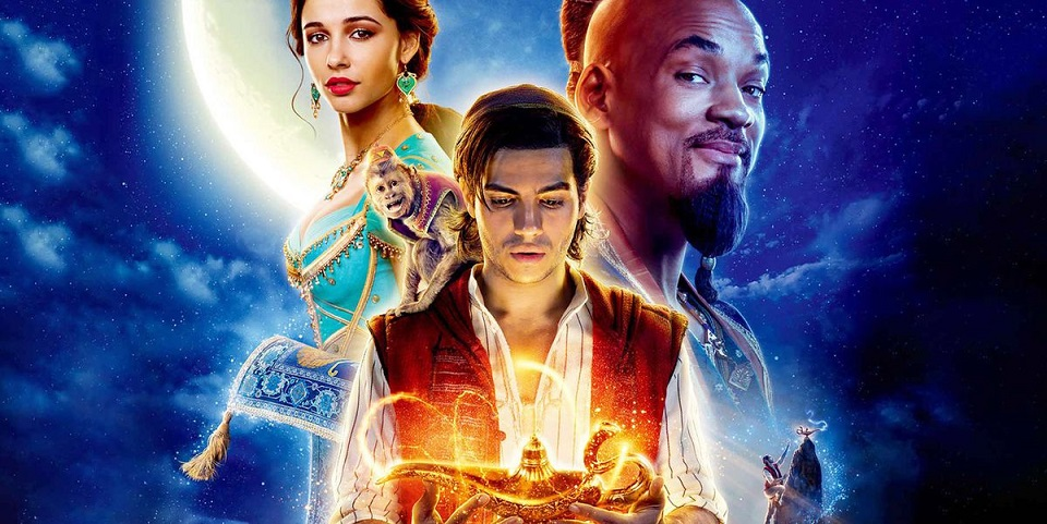 «Aladdin» domina taquilla mundial con 121 millones de dólares