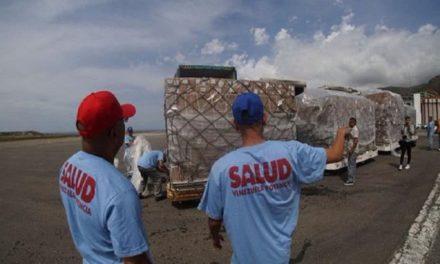 Llegan a Maiquetía 269 toneladas de insumos médicos desde China