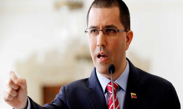 Arreaza: Washington está delante del golpe de Estado