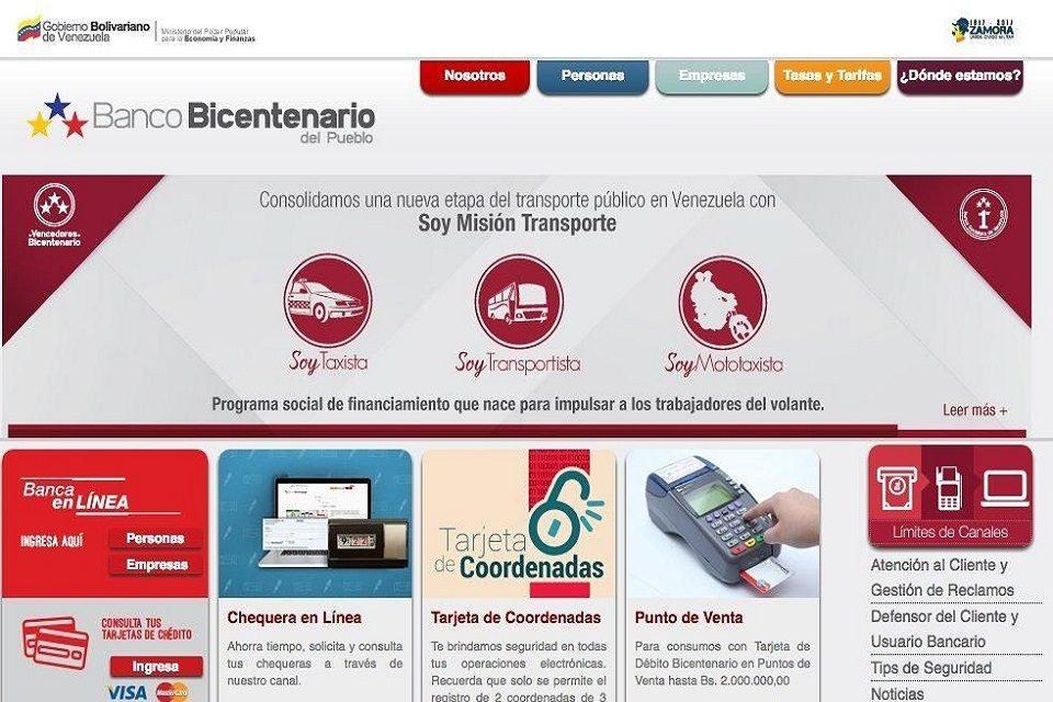 Banco Bicentenario actualiza límite diario de sus canales electrónicos