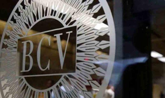 BCV publicó indicadores económicos rezagados desde 2016