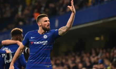 Olivier Giroud renovó con el Chelsea hasta 2020