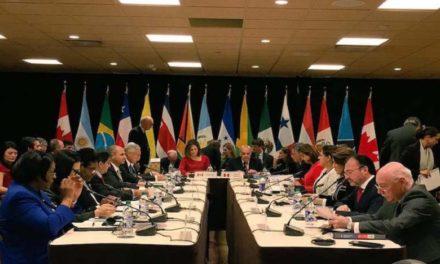 Grupo de Lima se reunirá en Guatemala el 6 de junio