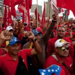 Oficialistas marchan hoy para celebrar la victoria popular del 20 de mayo