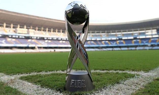 Mundial sub17 se disputará entre el 26 de octubre y el 17 de noviembre en Brasil
