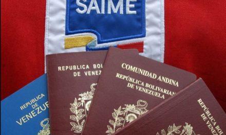 Saime estrenó plataforma que permite pagar el pasaporte mediante el BDV