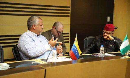Nigeria ratificó su intención de invertir en proyectos mineros de Venezuela