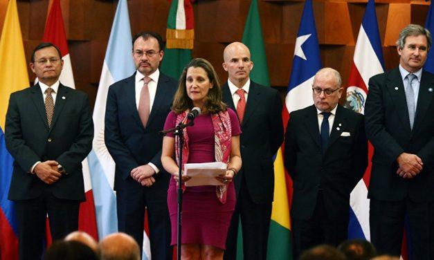 El Grupo de Lima sostendrá una nueva reunión el 20 de mayo en Guatemala