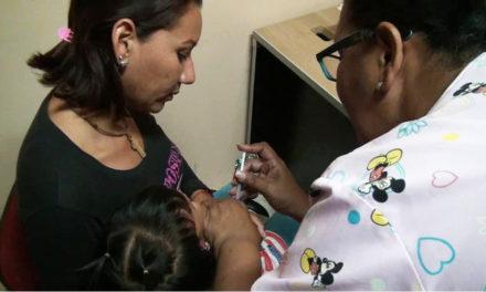 Continúan jornada de vacunación para niños hasta los 15 años de edad en Sotillo