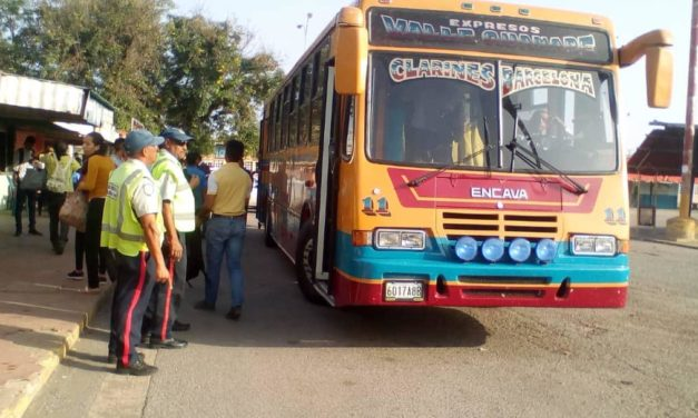 Despliegan operativos de supervisión en el transporte público