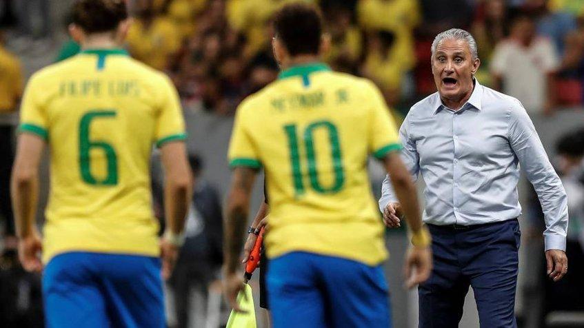 Entrenador de Brasil: Neymar será sustituido si hay una lesión grave